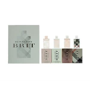 Giftset Burberry Brit Travel Collection For Women Mini 4x5ml