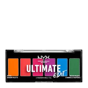 NYX PROF. MAKEUP Ultimate Shadow Palette Petit Edition - Brights