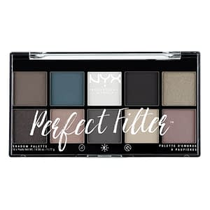 NYX PROF. MAKEUP Perfect Filter Shadow Palette Gloomy Days