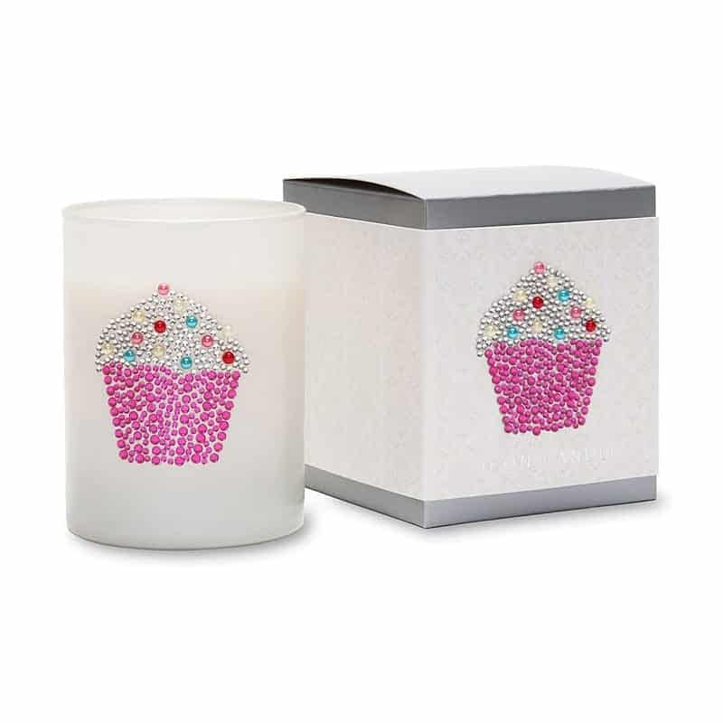 Primal Elements Icon Candle Cupcake