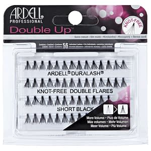 Ardell Individual Double Up Short Black Knotted