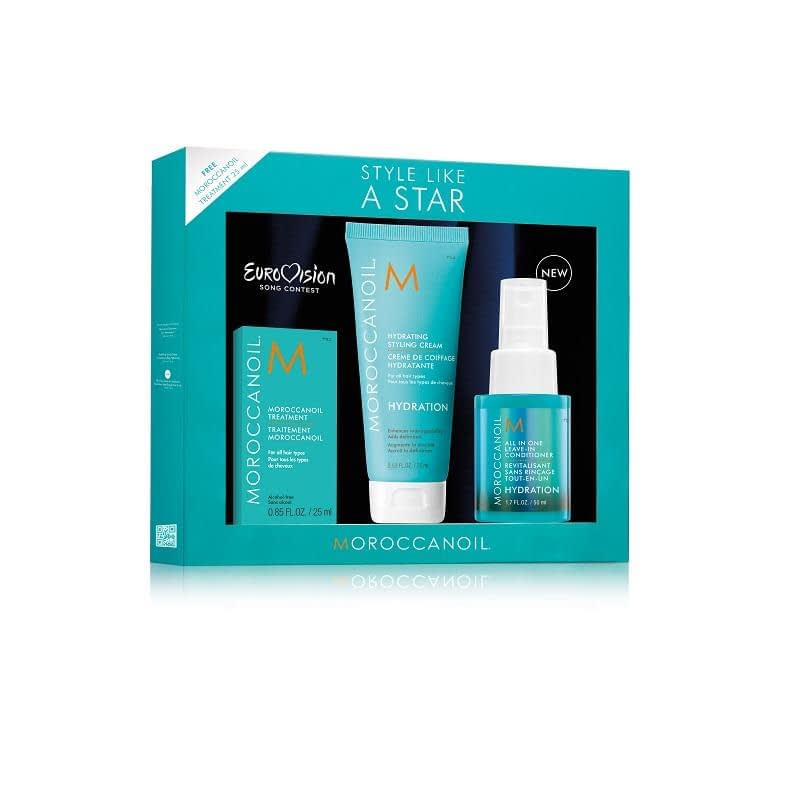 Giftset Moroccanoil Style like a Star Hydration