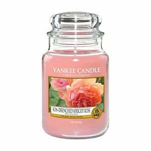 Yankee Candle Classic Large Jar Sun-Drenched Apricot Rose 623g