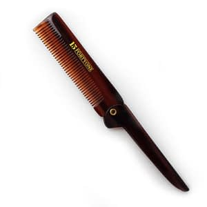 1541 London Pocket Size Fine Tooth Folding Comb