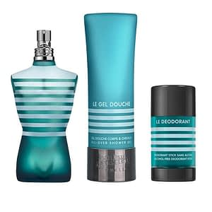 Giftset Jean Paul Gaultier Le Male Edt 125ml + Aftershave Balm 50ml + Deodorant Stick 75g