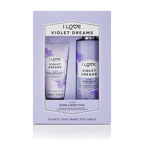 Giftset I Love…Violet Dreams Hand & Body Duo