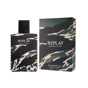 Replay Signature For Him Edt 100ml