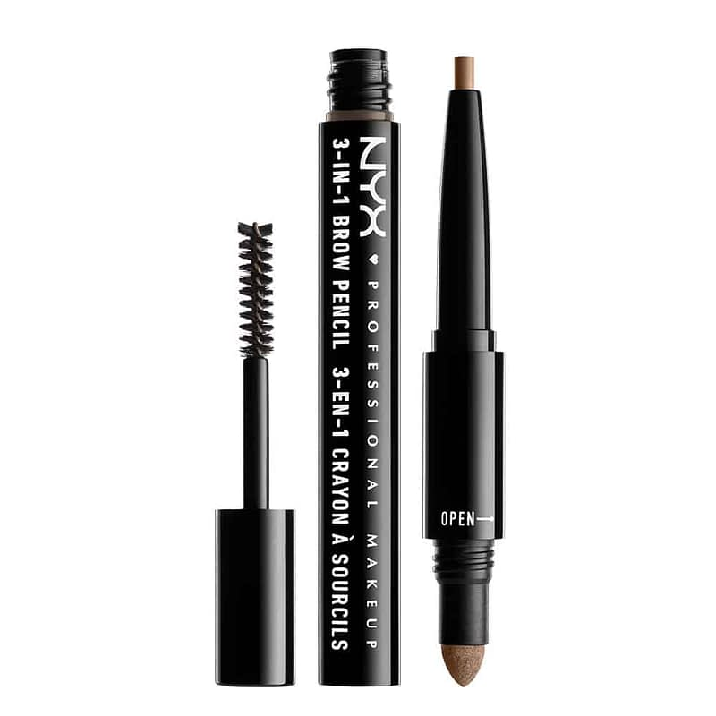 NYX PROF. MAKEUP 3 in 1 Brow - 02 Taupe