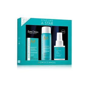 Giftset Moroccanoil Style Like a Star Volume