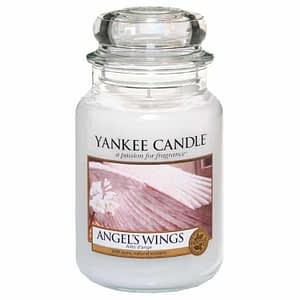 Yankee Candle Classic Large Jar Angel Wings Candle 623g
