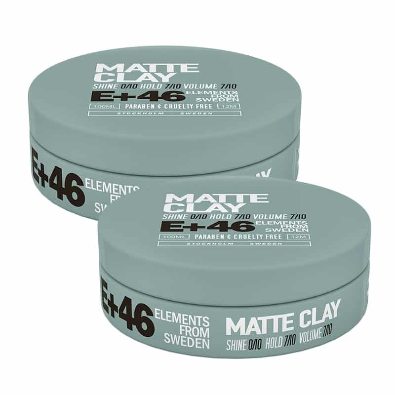 2-pack E+46 Matte Clay 100ml