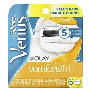 Gillette Venus with OLAY Comfortglide Blades 6-pack