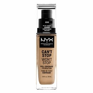 NYX PROF. MAKEUP Can't Stop Won't Stop Foundation - Beige