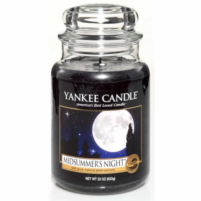 Yankee Candle Classic Large Jar Midsummer Night Candle 623g