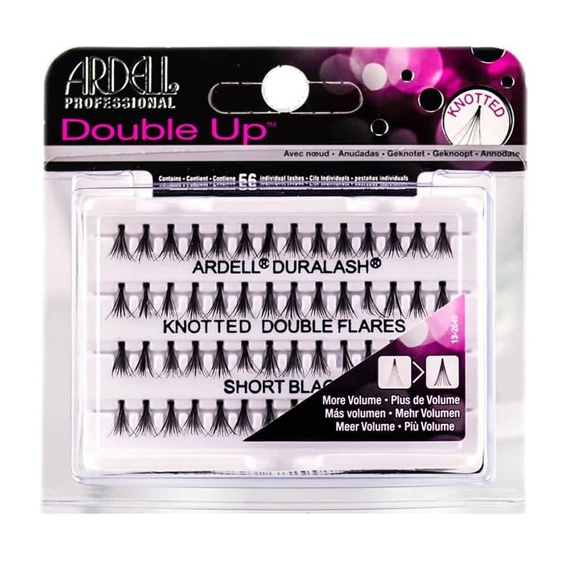Ardell Individual Double Up Knotted Long Black