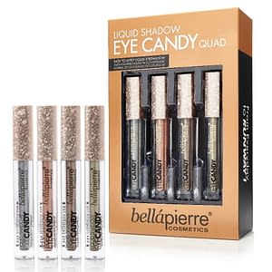 Giftset Bellapierre Liquid Shadow Eye Candy Quad