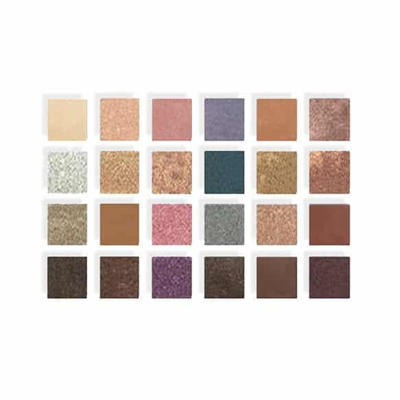 Kokie Pro Collection Eyeshadow Palette White