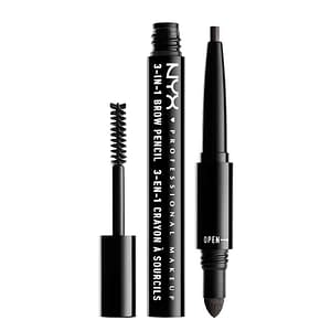 NYX PROF. MAKEUP 3 in 1 Brow - 09 Charcoal