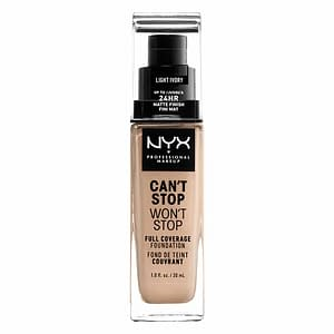 NYX PROF. MAKEUP Can't Stop Won't Stop Foundation - Light ivory