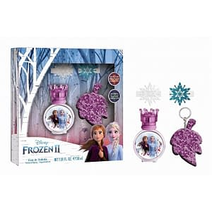 Giftset Disney Frozen II Edt 30ml + Hair Clips + Key Ring