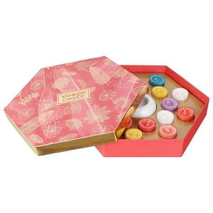 Giftset Yankee Candle 18 Tea Lights and 1 Holder - The Last Paradise