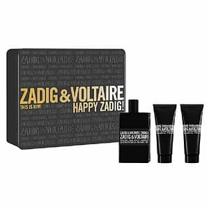 Giftset Zadig & Voltaire This is Him Edt 50ml + SG 50ml + SG 50ml