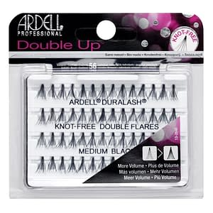 Ardell Double Up Individual Knot-Free Double Flares Medium Black