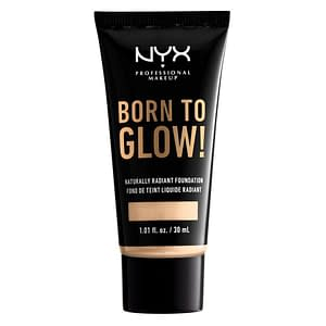 NYX Born To Glow Naturally Radiant Foundation 30ml - Pale