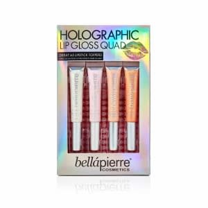 Giftset Bellapierre Holographic Lip Gloss Quad