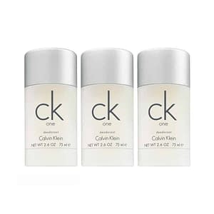 3-pack Calvin Klein CK One Deostick 75ml