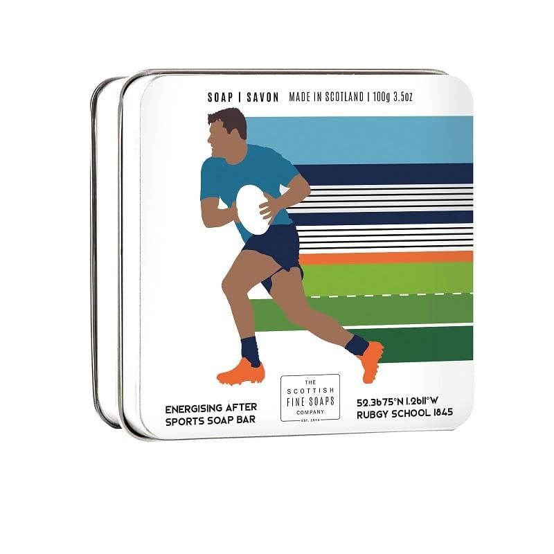 Scottish Fine Soaps Sports Soap Bar Rugby 100g