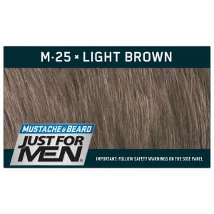 Just For Men Moustache & Beard - Light Brown M25