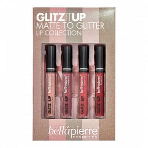 Giftset Bellapierre Glitz It Up Matte to Glitter Lip Collection