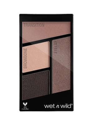 Wet and Wild Color Icon Eyeshadow Quads Silent Treatment