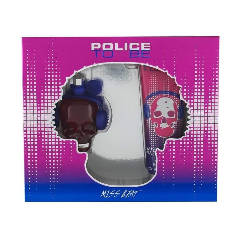 Giftset Police To Be Miss Beat Edp 40ml + Bodylotion 100ml