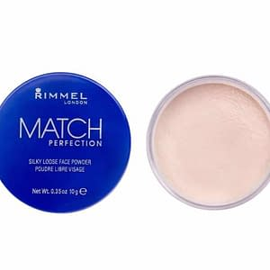 Rimmel Match Perfection Silky Loose Powder 001 Transparent