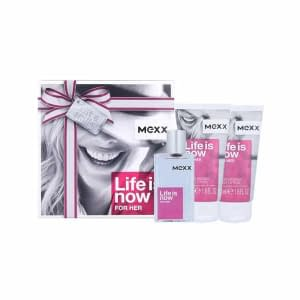 Giftset Mexx Life is Now Edt 30ml + Body Lotion 2x50ml