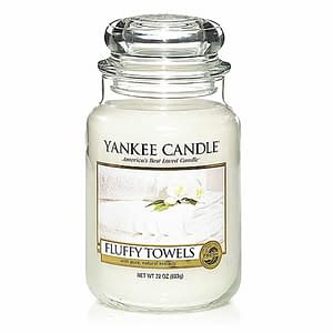 Yankee Candle Classic Large Jar Fluffy Towels Candle 623g