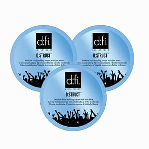 3-pack D:fi D:struct Molding Cream 75g