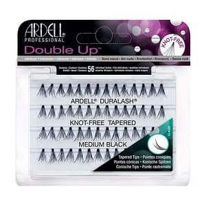 Ardell Double Up Individual Knot-Free Tapered Medium Black