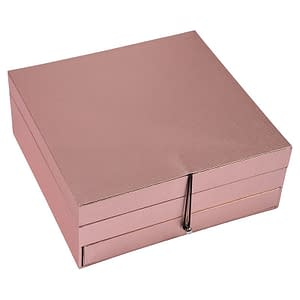 Makeup Box Tresure Rose Gold