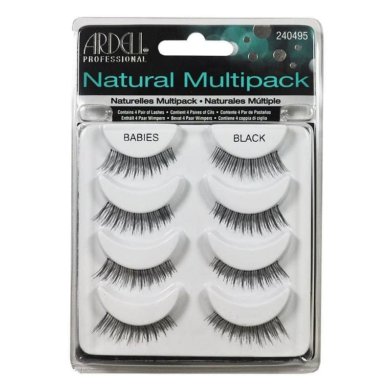 Ardell Natural Multipack Lashes Babies Black