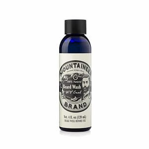 Mountaineer Brand Coal Beard Wash 120ml