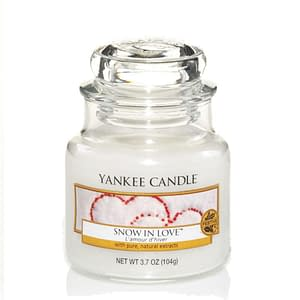 Yankee Candle Classic Small Jar Snow In Love 104g
