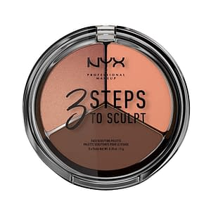 NYX PROF. MAKEUP 3 Steps To Sculpt Face Sculpting Palette - Deep