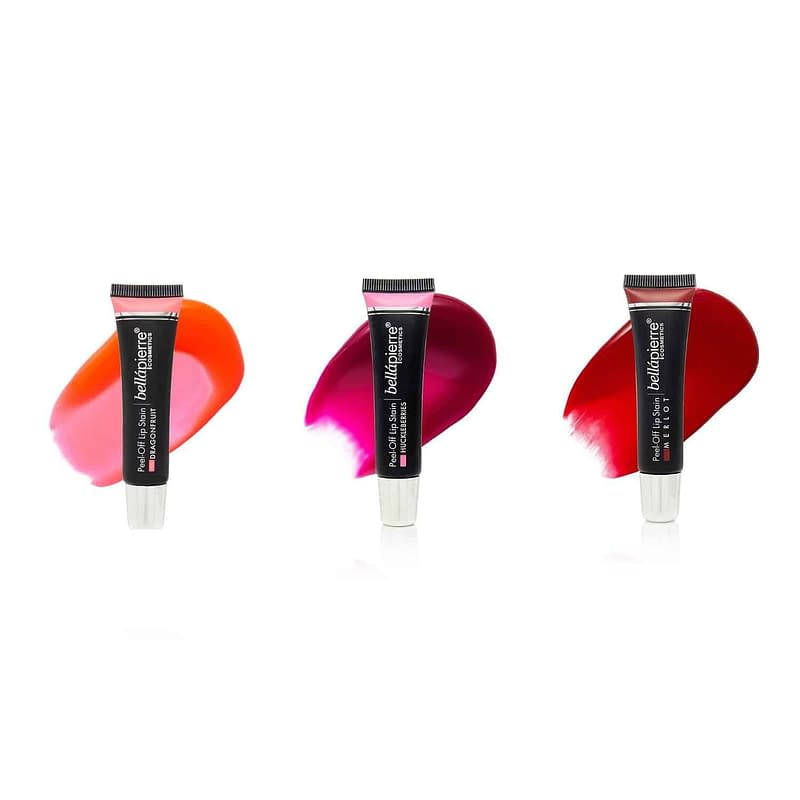 Giftset Bellapierre Peel-Off Lip Stain Collection